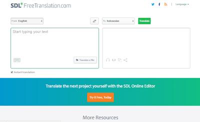 5+ Situs Penerjemah (Translator) Terbaik dan Paling Akurat 21