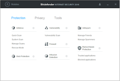 Enhaced Security protection avaliable on Bitdefender Internet Security