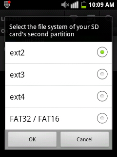 Increase internal memory in android