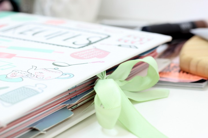 recipe folder paper chase
