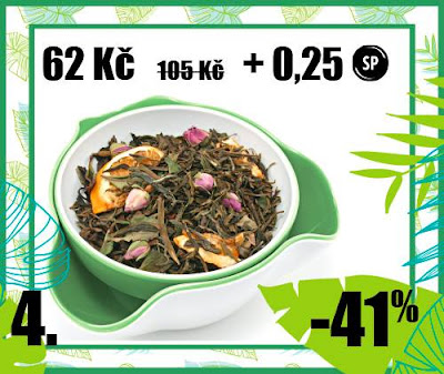 """50 g """"Pomerančový krém"""" - aromat. zelený čaj"""