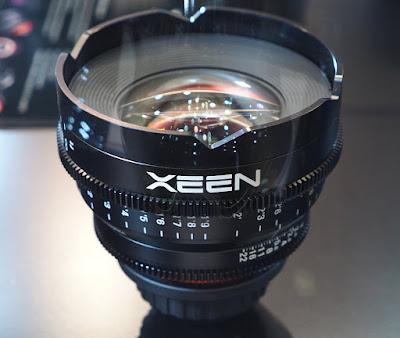 ساميانج تُعلن عن عدستها الاحترافية الجديدة XEEN 16mm T2.6