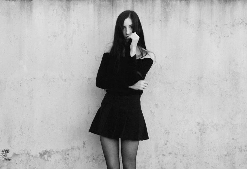 outfit, blogger, blog, fashion, nocturne, gothic, black, hair, jenn, potter, argentina, pale, photography, black and white