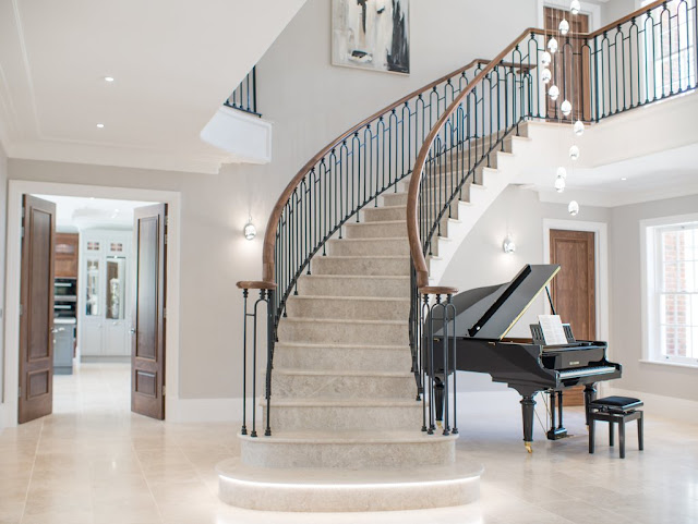 Staircase with doors project