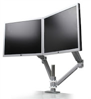 Symmetry Office Dual Screen Monitor Arm