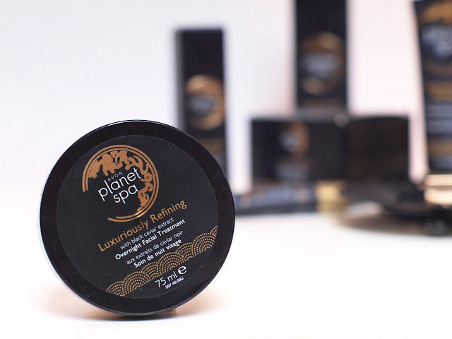 Planet Spa Luxuriously Refining Facial Treatment with black caviar