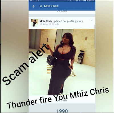 """Thunder Fire You Mhiz Chris"": Curvy And Busty Model Blasts Her Impersonator"