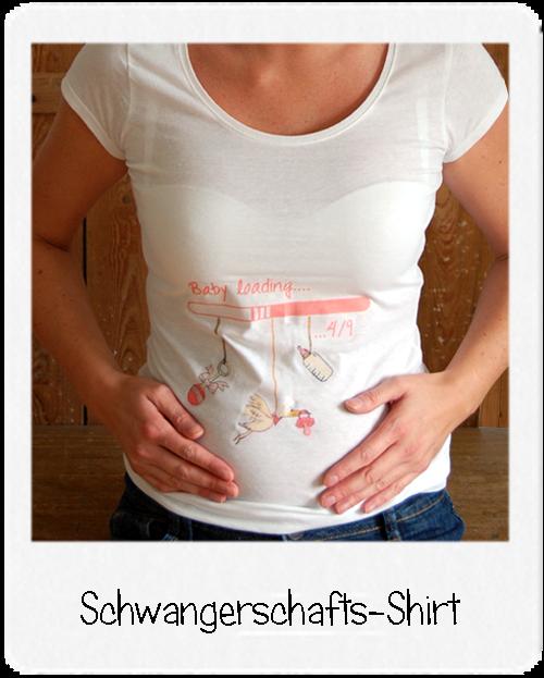 http://kleine-muzelmaus.blogspot.com/2014/09/frohe-botschaft-schwangerschaftsshirt.html
