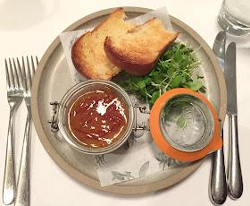 Liver Parfait With Marmalade Starter At Jesmond Dene House