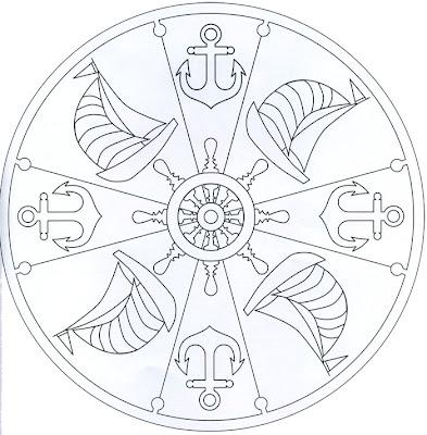 Mandala de barcos