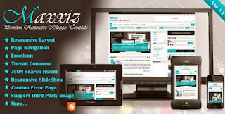 Maxxis Blogger Template