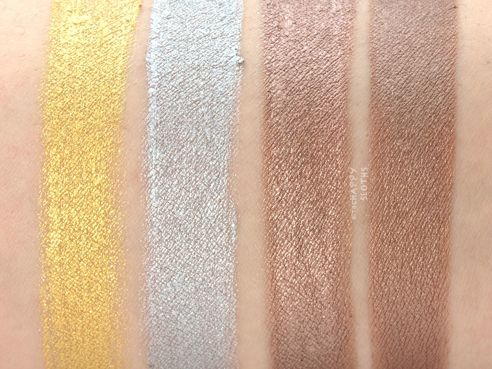 Hard Candy Look Pro Metal Eyes Kit Review And Swatches The Happy Eyeshadow However Once They Set Which Takes A Bit Longer Than Expected Shadows Are Still Prone To Smudging Just Like Any Other Powder
