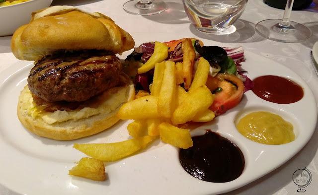 Restaurante Montellén Valladolid - Hamburguesa de Morucha