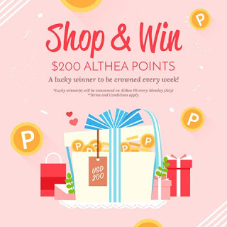 blogger review, althea, althea birthday, althea turn 2, ulang tahun althea, apa yang best shopping di althea, shopping di althea, tawaran hebat althea, althea, seronoknya shopping di althea,Innisfree, online shopping, shopping make up murah, produk aunthentic,