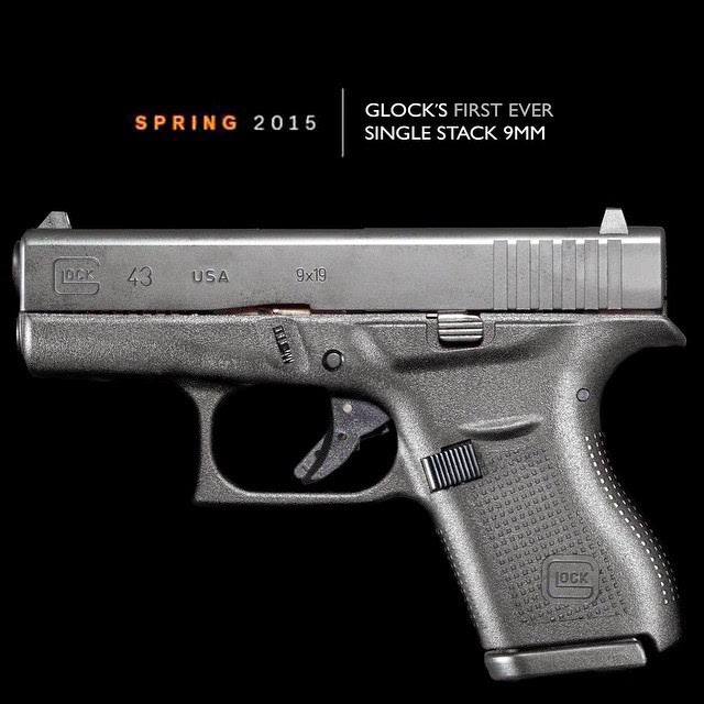 Glock 43 Single Stack 9mm Leaked Photo
