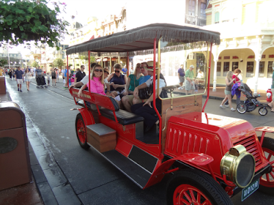 disney old fashion car