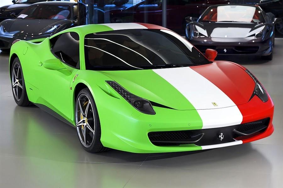 Ferrari 458 Italia Tri Color Ferrari 458 Italia