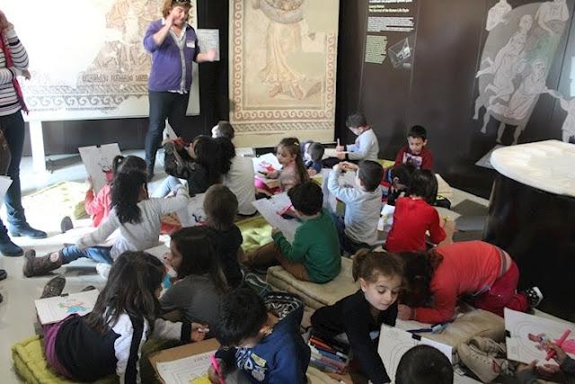 600 μαθητές και εκπαιδευτικοί επισκέφτηκαν το Βυζαντινό Μουσείο Αργολίδας το Μάρτιο του 2018