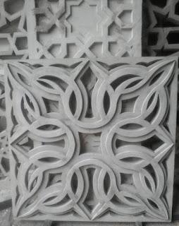sampel krawangan GRC motif Toraja