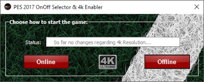 PES 2017 4K Selector V1.1