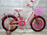 Sepeda Anak Wimcycle Strawberry