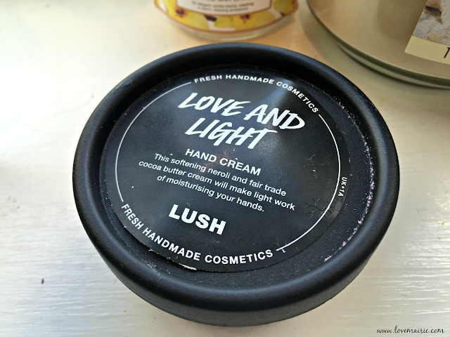 Love and Light Hand Cream | Lush | Love, Maisie