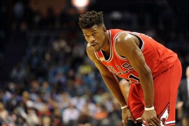 Jimmy Butler (Chicago Bulls), perplexe devant la situation de son équipe