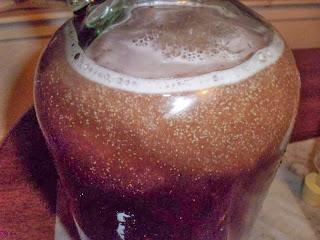 Apple Raspberry Juice Wine