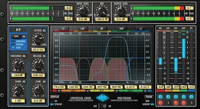 Mastering plugin 2017 - Uad precision multiband