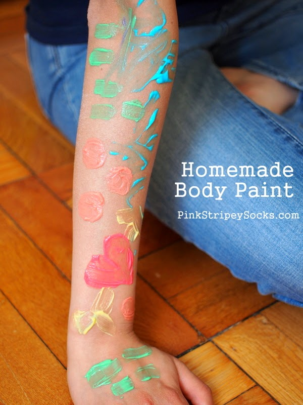 Make Homemade Body Paint with Kids