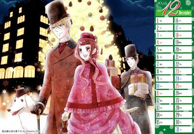 Diciembre: Kuro Hakushaku wa Hoshi wo Mederu de Hisamu Oto