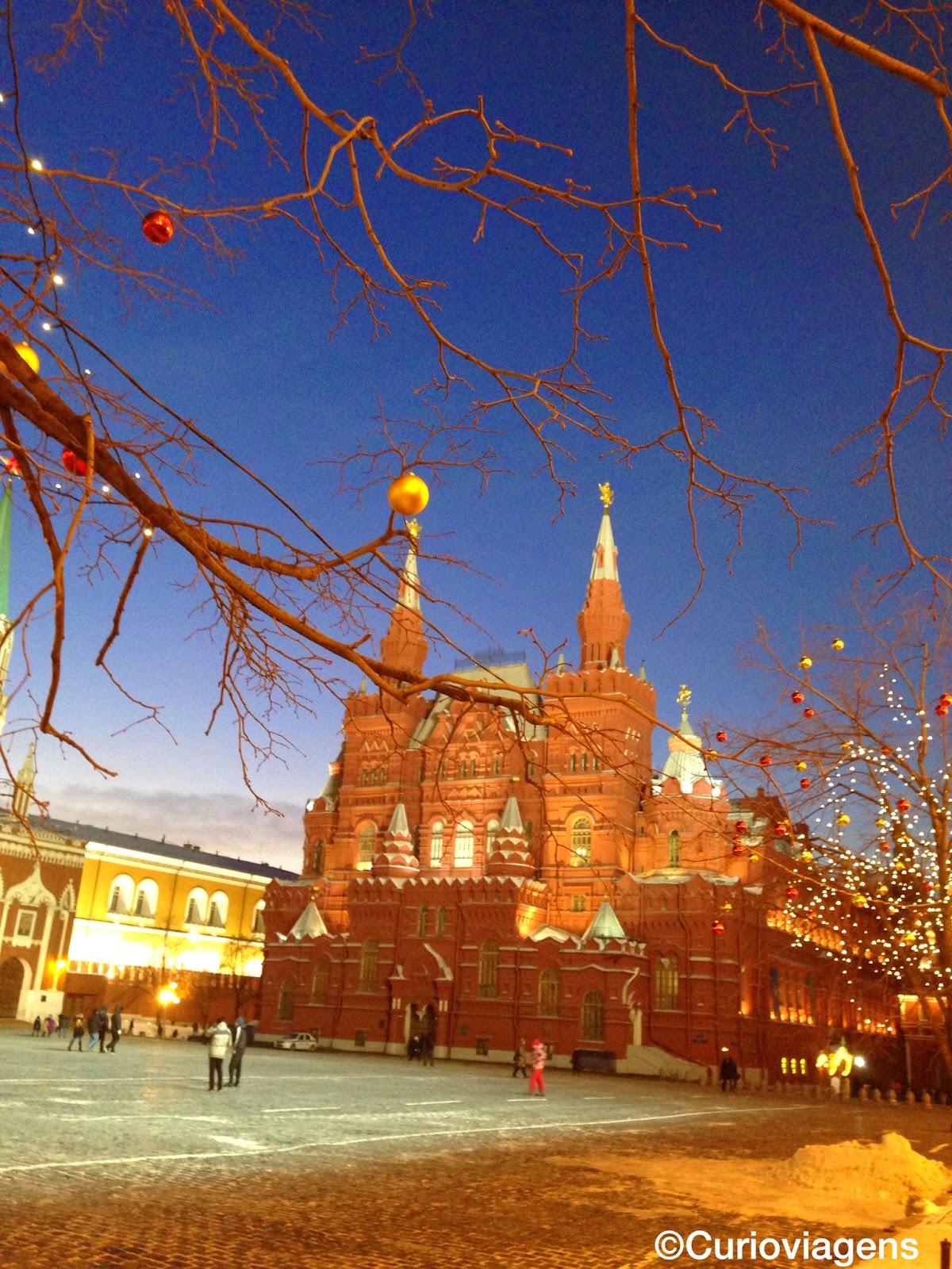 Guia de Moscou Praça Vermelha