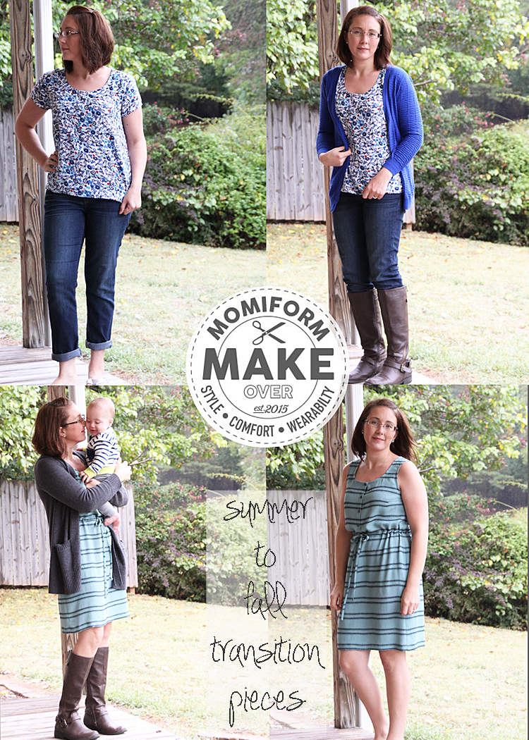 Momiform MAKEover - Scout Tee & Southport Dress