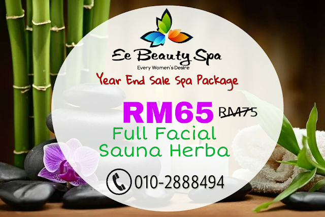 Ee beauty spa, twb, pakej spa murah, pakej spa