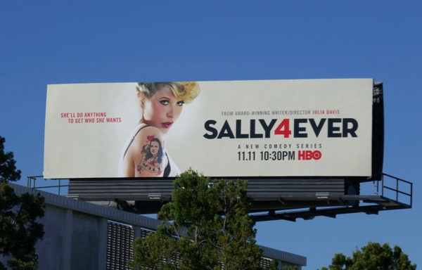 Sally4Ever series premiere billboard