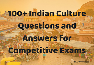 Indian Culture Questions and Answers