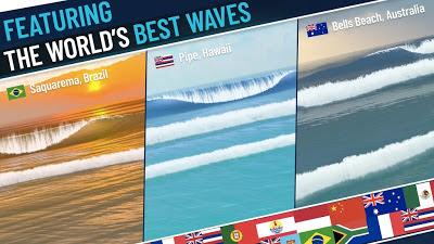 لعبة ركوب الأمواج True Surf
