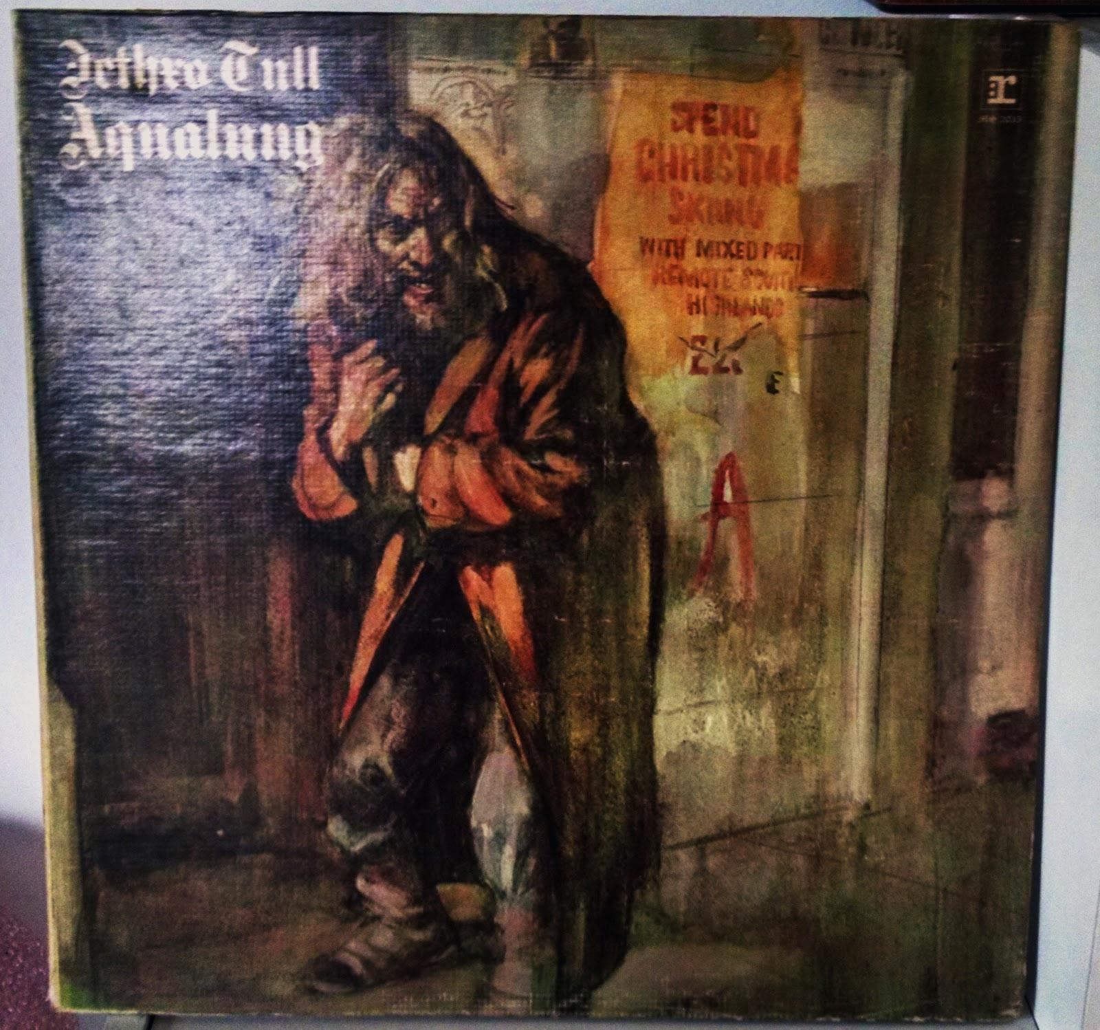Life At 33 1 3 Aqualung 1971 Jethro Tull Rerpise