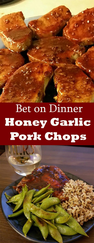 Recipe - Honey Garlic Pork Chops