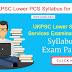 Uttarakhand Lower PCS Main Exam Syllabus and Pattern 2017