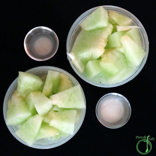 Morsels of Life - Honeydew Sorbet Step 1 - Gather all materials.