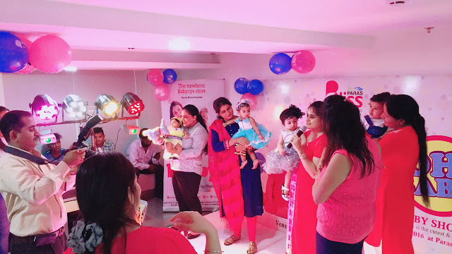 200+ Babies and Moms Pretty Up Paras Bliss, Panchkula, as the Hospital Hosts First Baby Show