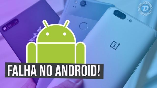 Falha no Android