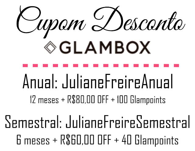 CUPOM DESCONTO GLAMBOX 2018