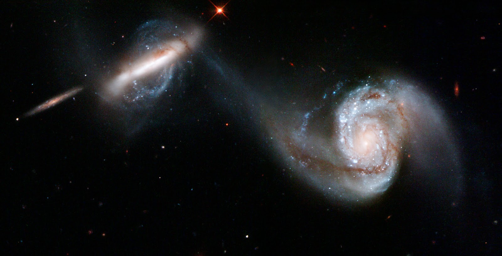 Interacting galaxies arp 87 earth blog for Immagini galassie hd