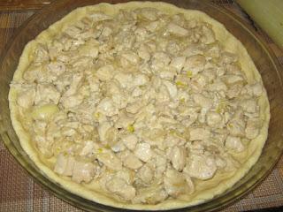 рецепт пирога с куриным мясом