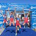 Inés Santiago y Uxío Abuín, protagonistas de la Copa de Europa de Altafulla y del Campeonato Mediterráneo de Triatlón
