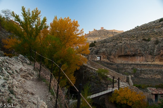 Paseo fluvial de Albarracin. Teruel