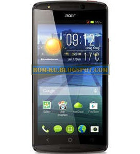 Firmware Acer Liquid E700 E39 Tested (Flash File)
