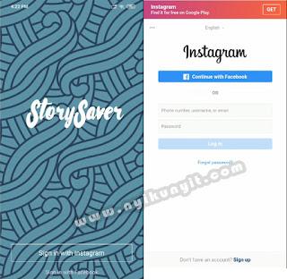 Bagaimana cara menyimpan story orang di instagram